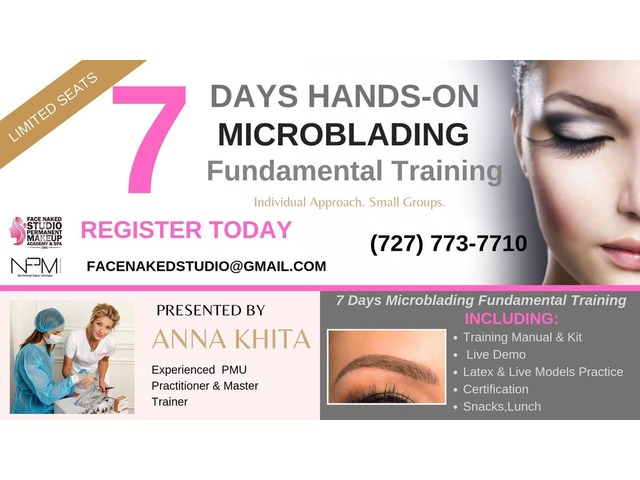Hands -on Microblading Fundamental Course in Clearwater