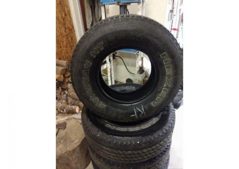 Tires 265/75R/16