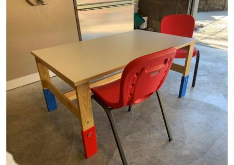 IKEA SANSAD Children's Table w/ 2 Chairs – RARE