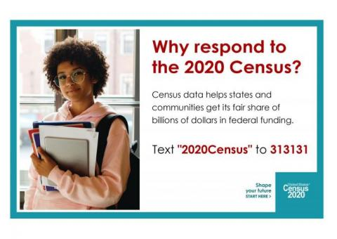 Washington County! Respond to the 2020 Census!