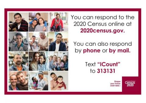 Burt County! Respond to the 2020 Census!