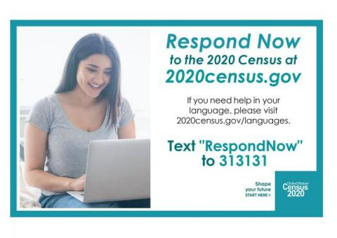 Cuming County! Respond to the 2020 Census!